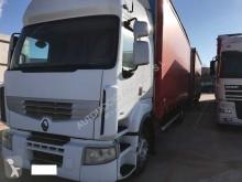 Camião reboque caixa aberta com lona usado Renault Premium 380 DXI