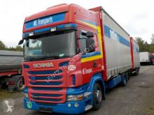 Vrachtwagen met aanhanger Schuifzeilen Scania R440-6X2-RET-HUBDACH-KOMPLETTZ