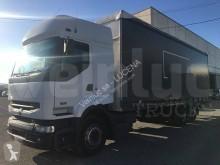 Nyerges vontató és pótkocsi Renault Premium 420.26 használt ponyvával felszerelt plató