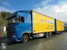 camión remolque lonas deslizantes DAF