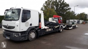 Lohr trailer truck used car carrier