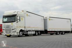 camión remolque DAF XF 460/JUMBO 120M3/EURO 6 / ACC / 7,7M + 7,7M