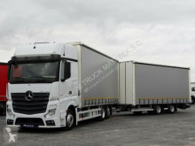 ciężarówka z przyczepą Mercedes ACTROS 2545/ JUMBO 120 M3/VEHICULAR/ DOPPELSTOCK