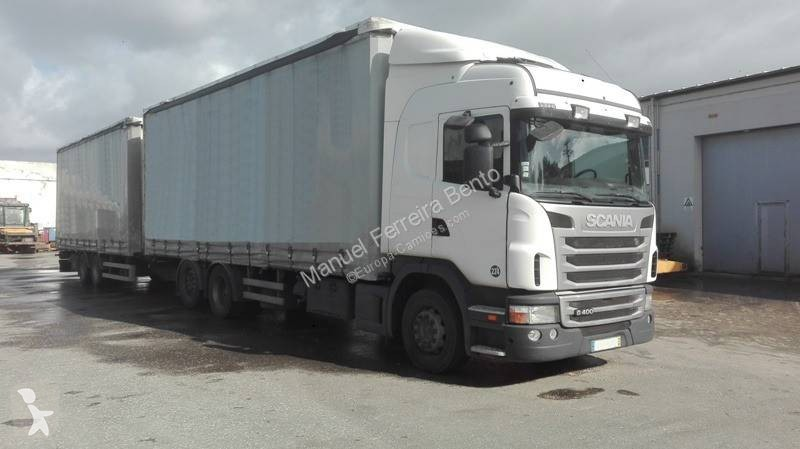 View images Scania G 400 trailer truck