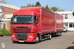 Camion remorque savoyarde système bâchage coulissant DAF XF105 460