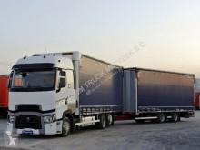 شاحنة مقطورة Renault T 480 / JUMBO 120M3 / VEHICULAR / EURO 6 / ACC / ستائر منزلقة (plsc) مستعمل