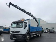 Camión remolque caja abierta usado Renault Premium Lander