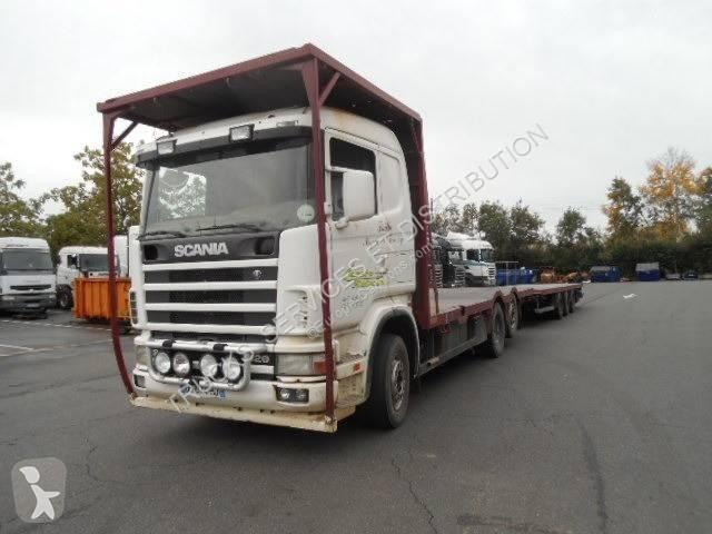 Преглед на снимките Хенгер Scania R124 420