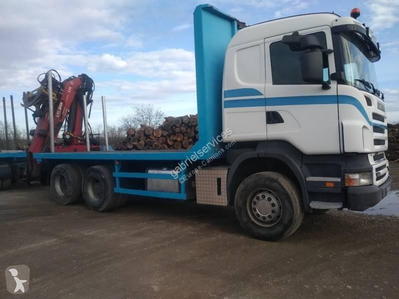 Voir les photos Camion remorque Scania R 500