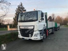Camion remorque DAF CF85 460 plateau ridelles occasion