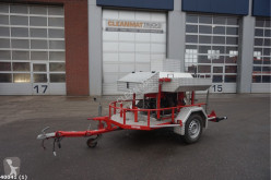 Brandweer waterpomp unit trailer used fire