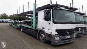 Mercedes car carrier trailer truck Actros 1844 L