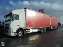 DAF XF 460 trailer truck used tautliner
