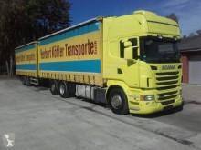 Camion remorque Scania R 480 savoyarde système bâchage coulissant occasion