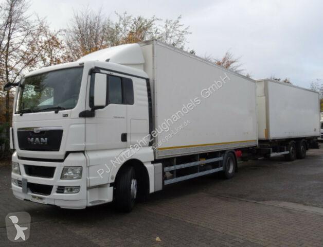 Prohlédnout fotografie Kamion s návěsem MAN 3x TGX 18.440 mit Anhänger 100m³