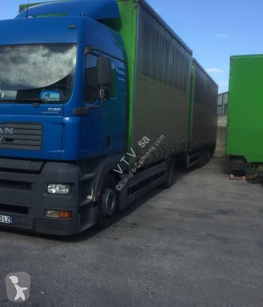 Prohlédnout fotografie Kamion s návěsem MAN TGA 18.430