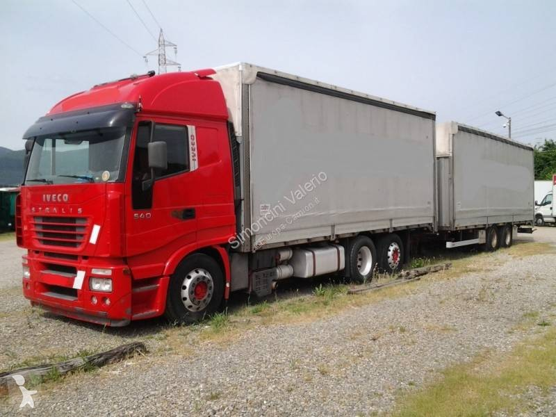 View images Iveco Stralis AS 260 S 54 trailer truck