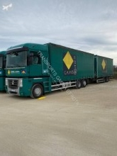 Used tautliner trailer truck Renault Magnum 480 DXI