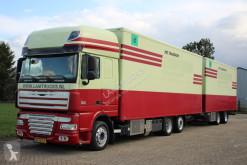 camion remorque DAF 105.410 BLOEMEN PLANTEN TRANSPORT