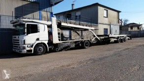 Scania car carrier trailer truck P124 420