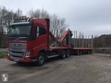 Volvo timber trailer truck