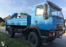 Used tipper trailer truck MAN