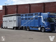 Camion cu remorca transport bovine Scania R 500
