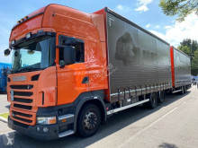 Scania tautliner trailer truck R 380