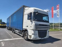 DAF XF460 trailer truck used tautliner
