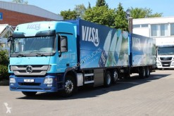 Lastbil med släp transportbil Mercedes Actros Mercedes-Benz Actros 2541Transporteur de boissons