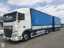 Camion remorque DAF XF460 rideaux coulissants (plsc) occasion