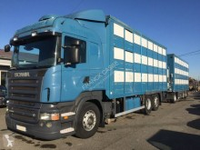 Camion cu remorca transport animale second-hand Scania R 500