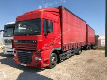Camion remorque rideaux coulissants (plsc) occasion DAF XF105 460