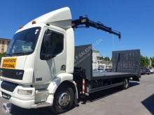 Camião reboque DAF LF55 FA 250 estrado / caixa aberta usado