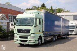 Camion remorque savoyarde occasion MAN TGX MAN TGX 26 480 XLX Retarder / Volume !!! EURO 5 EEV