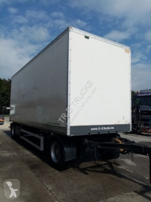 Remolque furgón Gesloten trailer met roldeur en schijfremmen