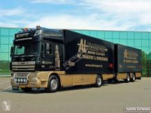 camión remolque furgón DAF