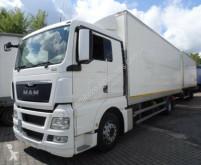 Camión remolque lonas deslizantes (PLFD) MAN TGX 18.440 mit Anhänger 100m³
