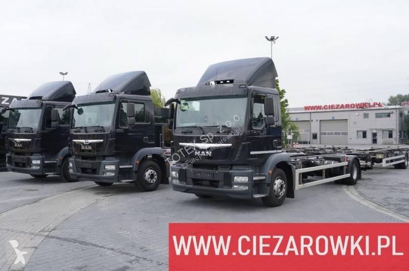 Zobaczyć zdjęcia Ciężarówka z przyczepą MAN TGM 15.290