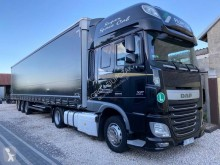 DAF XF tractor-trailer used tautliner