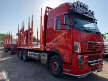 Camion cu remorca Volvo FH16 700 transport buşteni second-hand