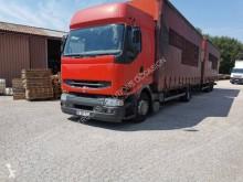 Kamion s návěsem posuvné závěsy Renault Premium
