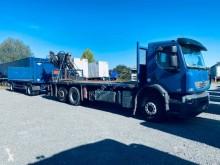 Renault Premium Lander 410.26 trailer truck used standard flatbed