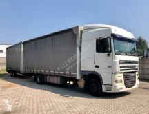 DAF XF105 410 trailer truck used tautliner