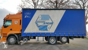 Ciężarówka z przyczepą Renault Premiun firanka używana