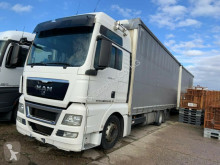 MAN 26.440 TGX Jumbo Zug 120 m3 German Truck trailer truck used tautliner