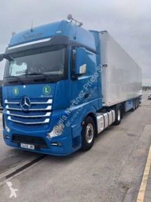 Ensemble routier Mercedes Actros 1851 frigo occasion
