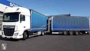 DAF XF 460 SSC trailer truck used tautliner