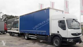 Ciężarówka z przyczepą firanka Renault Premium 430 DXI