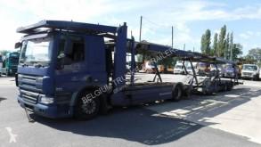 Camion cu remorca DAF CF75 360 pentru transport autovehicule second-hand